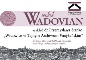 Okładka Wokół Wadovian 2014