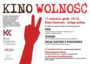 plakat kino wolność