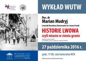 Wykład doc. dr Marian Mudryj